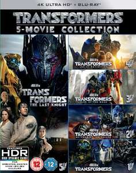 Transformers: 5-Movie Collection - (5x 4K Ultra HD Blu-ray) für 39,06€ (Zavvi)