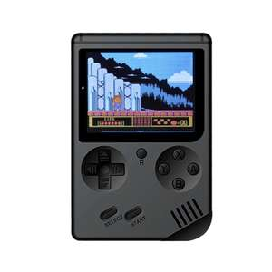 """""""Retro"""" Mini Game im Game Boy Design: 168 x Spiele enthalten. (schwarz oder grau)"""