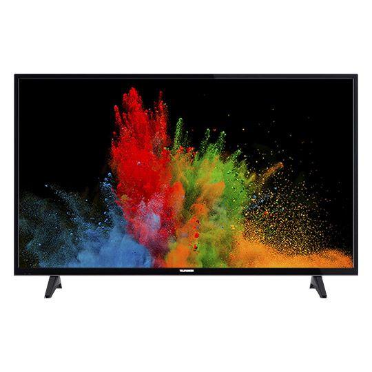 "[cyberport] Telefunken D49U297N4CW - 49"" 4K UHD Smart Fernseher (3840x2160, 300cd/m², 60 Hz nativ, Triple Tuner mit DVB-T2, Dolby Digital Plus)"