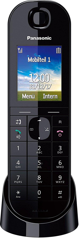 Panasonic KX-TGQ400GB IP-Telefon, CAT-iq, Farbdisplay für 25€ versandkostenfrei (Media Markt)