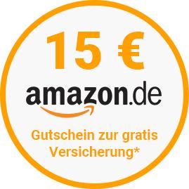 15€ Amazon Gutschein + Haftpflichtversicherung GRATIS bei wefox