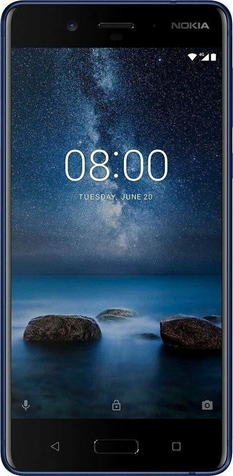 Nokia 8 128 GB glossy blue