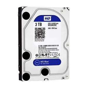 "[pemanti/ebay] Western Digital Blue 3TB 6Gb/s HDD internal (8,9cm 3,5Zoll, SATA) WD30EZRZ ""recertified by WD"""