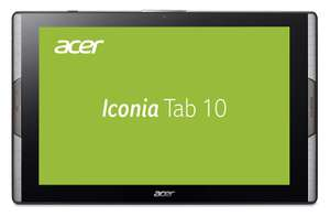 "Android-Tablet Acer Iconia Tab 10 A3-A50, 4 GB RAM, 64 GB Flash, 10.1"" IPS@1920x1200 Pixel, Android 7, Schwarz"