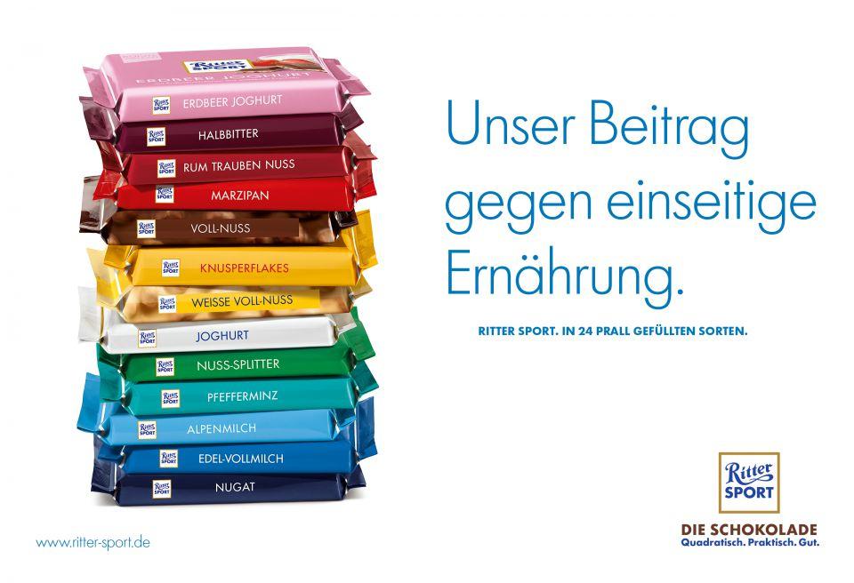 Ritter Sport Bunte Vielfalt für 59 Ct @ Kaufland bundesweit ab 09.07.