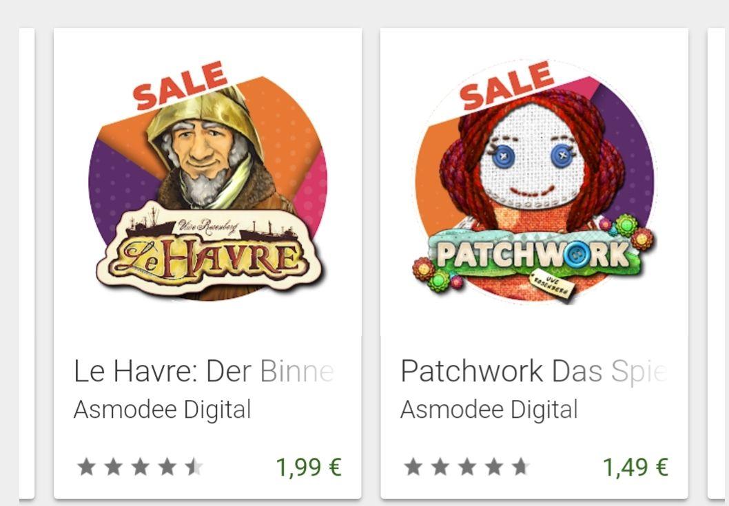 Asmodee Digital Brettspiele im Play Store
