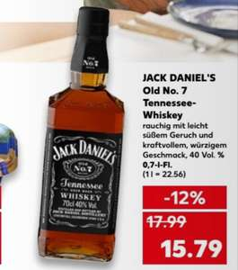 Jack Daniel's Old No. 7 Whiskey [Kaufland DE-weit]