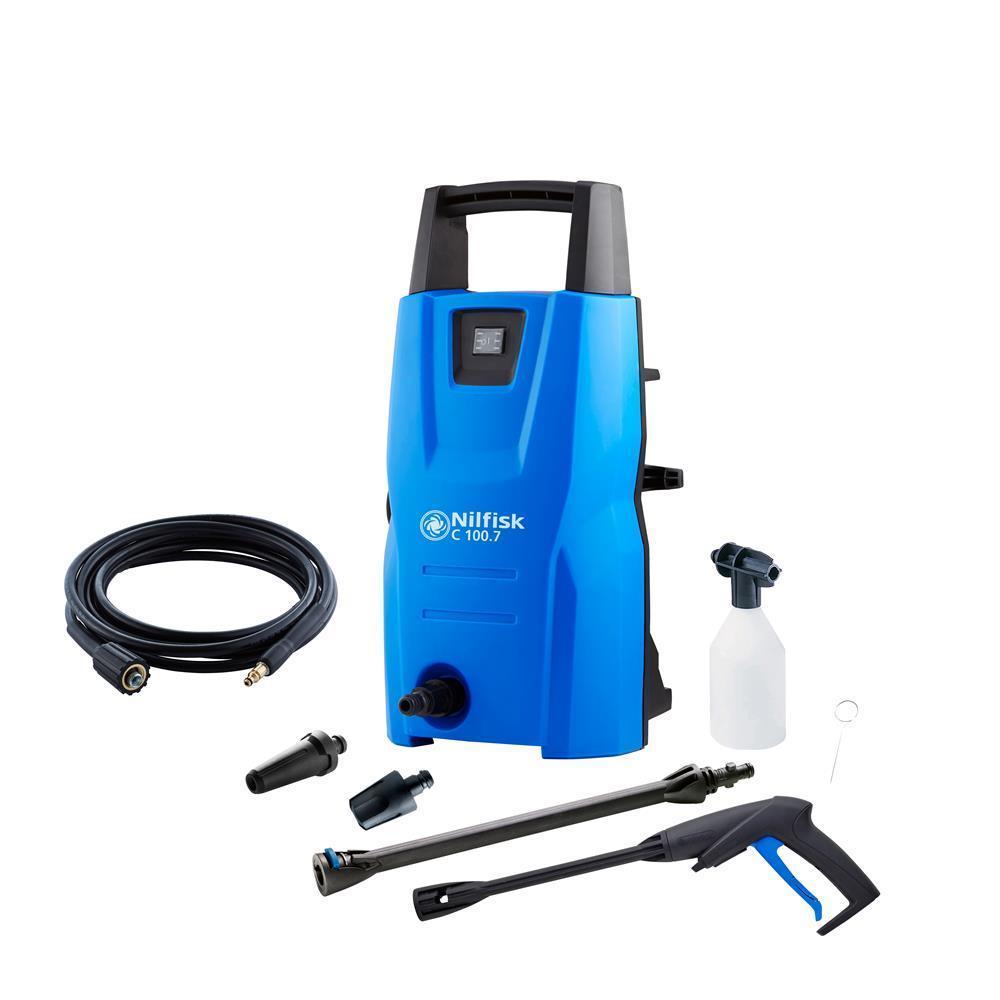 [okluge@eBay] Nilfisk 128470902 C 100.7-5 Hochdruckreiniger, 1300 W, 230 V, Blau für 59,99€ bzw. 53,91€ mit eBay-AU-Trick