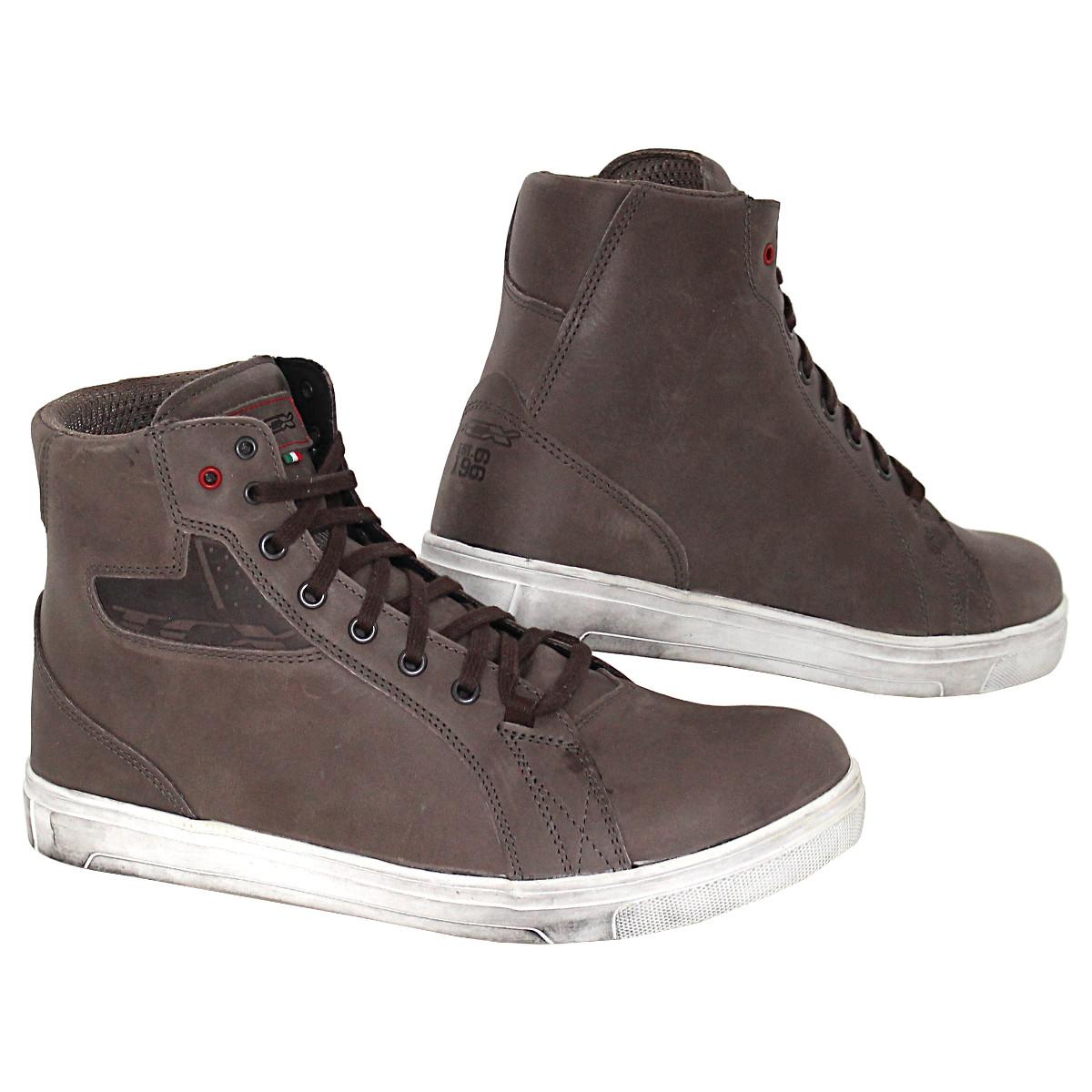 TCX STREET ACE Motorradstiefel  Leder Sneaker Boots Motorrad Schuhe wasserdicht