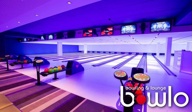 Eine Stunde Bowling mit bis zu 7 Personen in Lokal NL Kerkrade