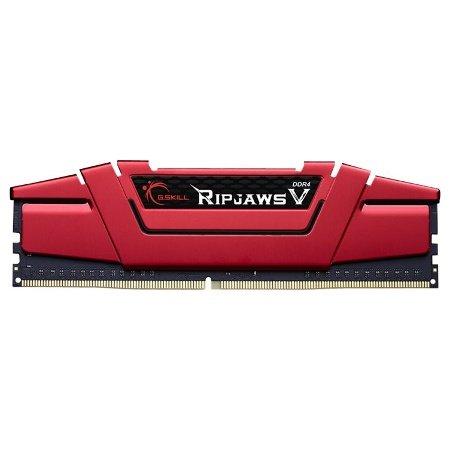 Arbeitsspeicher G.Skill RipJaws V rot DIMM 16GB (1x16GB), DDR4-2800, CL15-15-15-35 (F4-2800C15S-16GVR) [Mindfactory, Amazon, etc.]