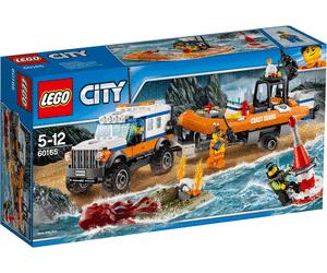 LEGO City - Geländewagen mit Rettungsboot (Amazon Prime)