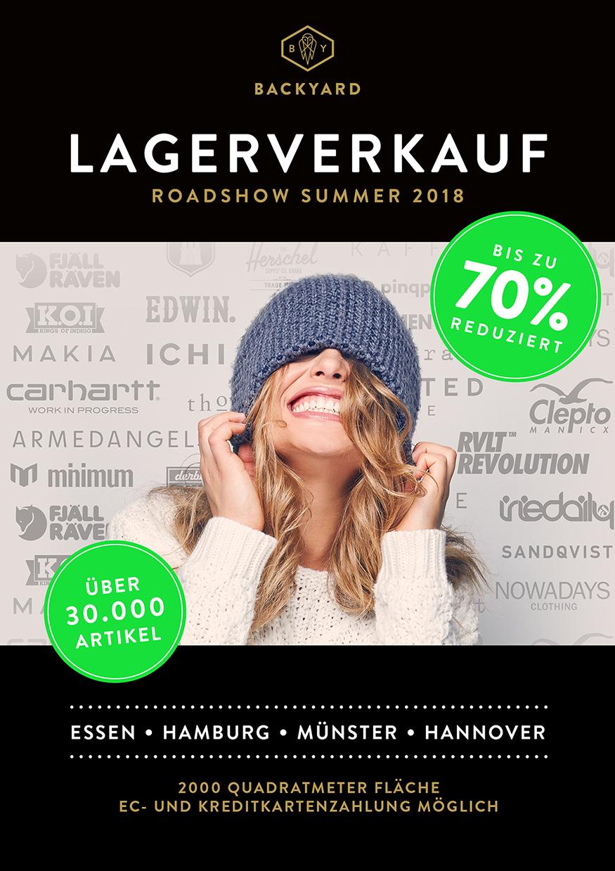 [Lokal] Backyard Lagerverkauf Hannover