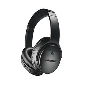 [Microspot CH] Bose QuietComfort 35 II in Silber/Schwarz (Over-ear Kopfhörer, Active Noise Cancelling, Near Field Communication, Headsetfunktion, Bluetooth)