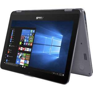 "[Saturn --> ""Umzug"" USA] Asus VivoBook Flip TP203NAH-BP051T / 2in1 / Intel Quad-Core N4200 / 4GB RAM / 1000GB / Windows 10 / grau"