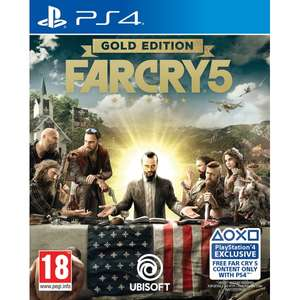 Far Cry 5 Gold Edition inkl. Season Pass (PS4/Xbox One) für je 51,98€ (Shop4de)