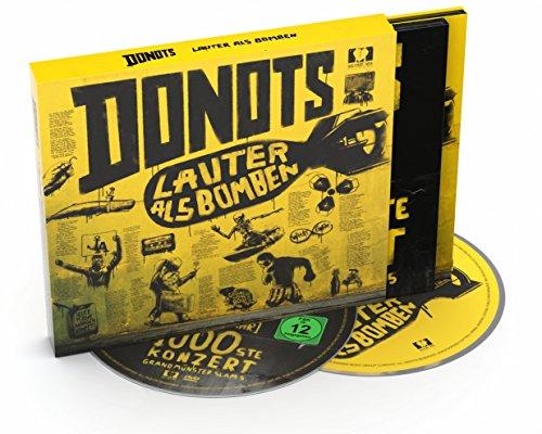 """DONOTS Festival-Bundle: fette Live DVD + Album """"Lauter als Bomben"""""""