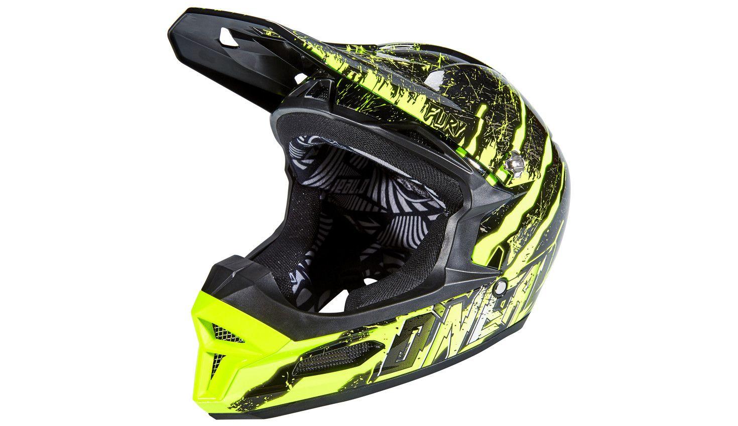 ONeal Fury RL Mercury Helmet Neon Yellow