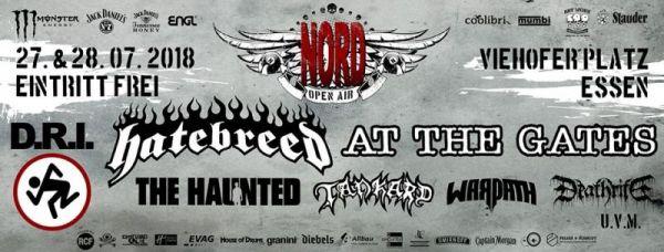 NORD OPEN AIR (2 tägiges Metalfestival in Essen Nord/ bekannte Bands ! ) Kostenloser Eintritt