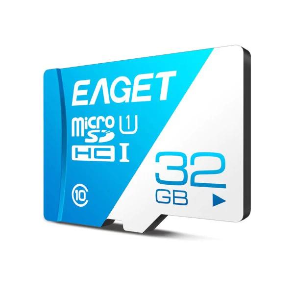 EAGET T1 32GB MicroSDHC (80MB/s, Class 10) für 3,92€ (Rosegal)