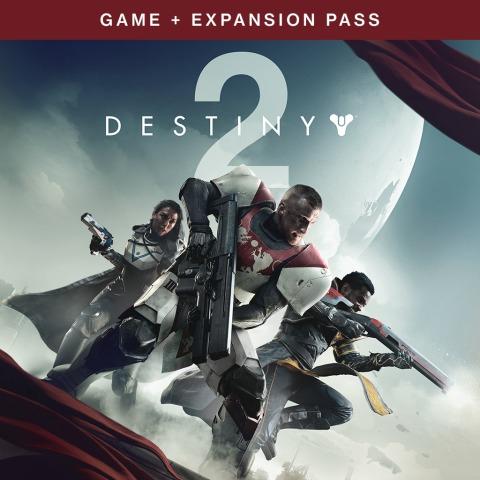 [PSN] Destiny 2 - Spiel + Erweiterungspass-Paket (PS4)