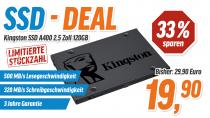 [offline in NBB-Filialen] SSD Kingston A400 120GB