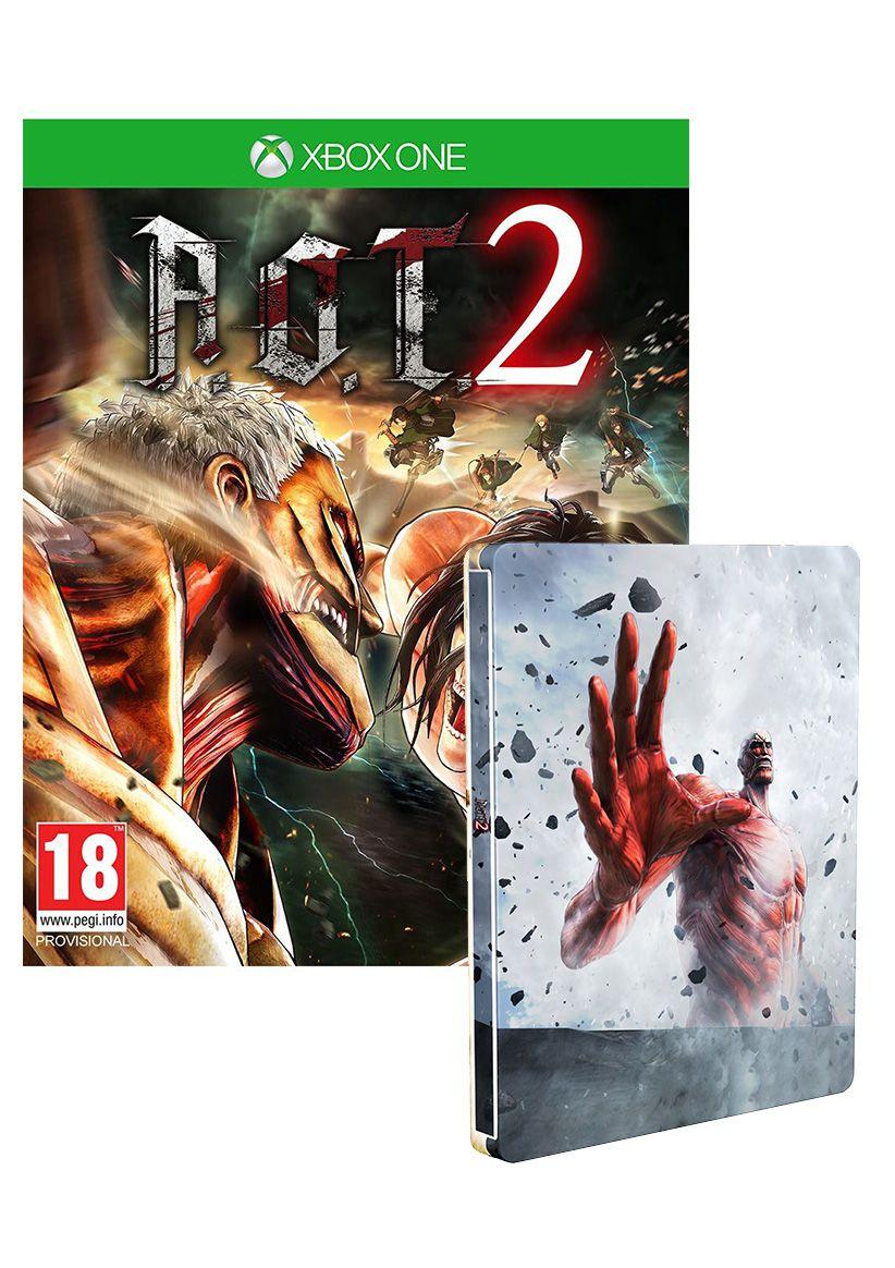 Attack on Titan 2 Steelbook Edition (Xbox One) für 25,26€ (SimplyGames)