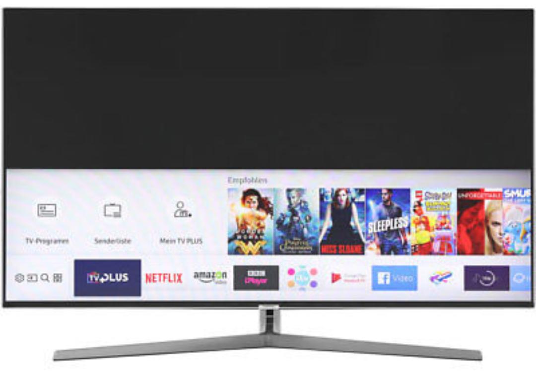 eBay: Samsung UE55MU8009 (4k, 120 Hz, HDR@10bit, VA-Panel, Triple Tuner mit DVB-T2, Unicable, Dolby Digital Plus, DTS, Tizen, WLAN, 20ms Input Lag) für 713€
