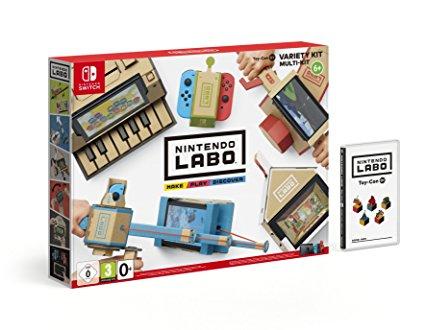 [Regional Mediamarkt Heidelberg-Rohrbach] Nintendo Labo Toy-Con 01 - Multi-Kit für 44€ und Toy-Con 02 - Robot Kit für 55€ (Nintendo Switch)