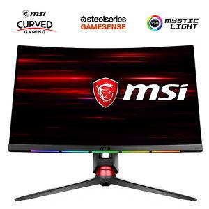 Msi MPG27CQ ( 1440P,  144HZ , VA PANEL ) +SteelSeries QcK Prism Mousepad PVG 55€ + 30 $ Steam-Guthaben (ebay Umzug)