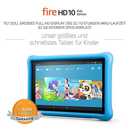Vorbestellung bei Amazon.de: 2 x Fire HD 10 Kids Edition-Tablet mit 2 Jahren Sorglos Garantie + 1 Jahr FreeTime Unlimited