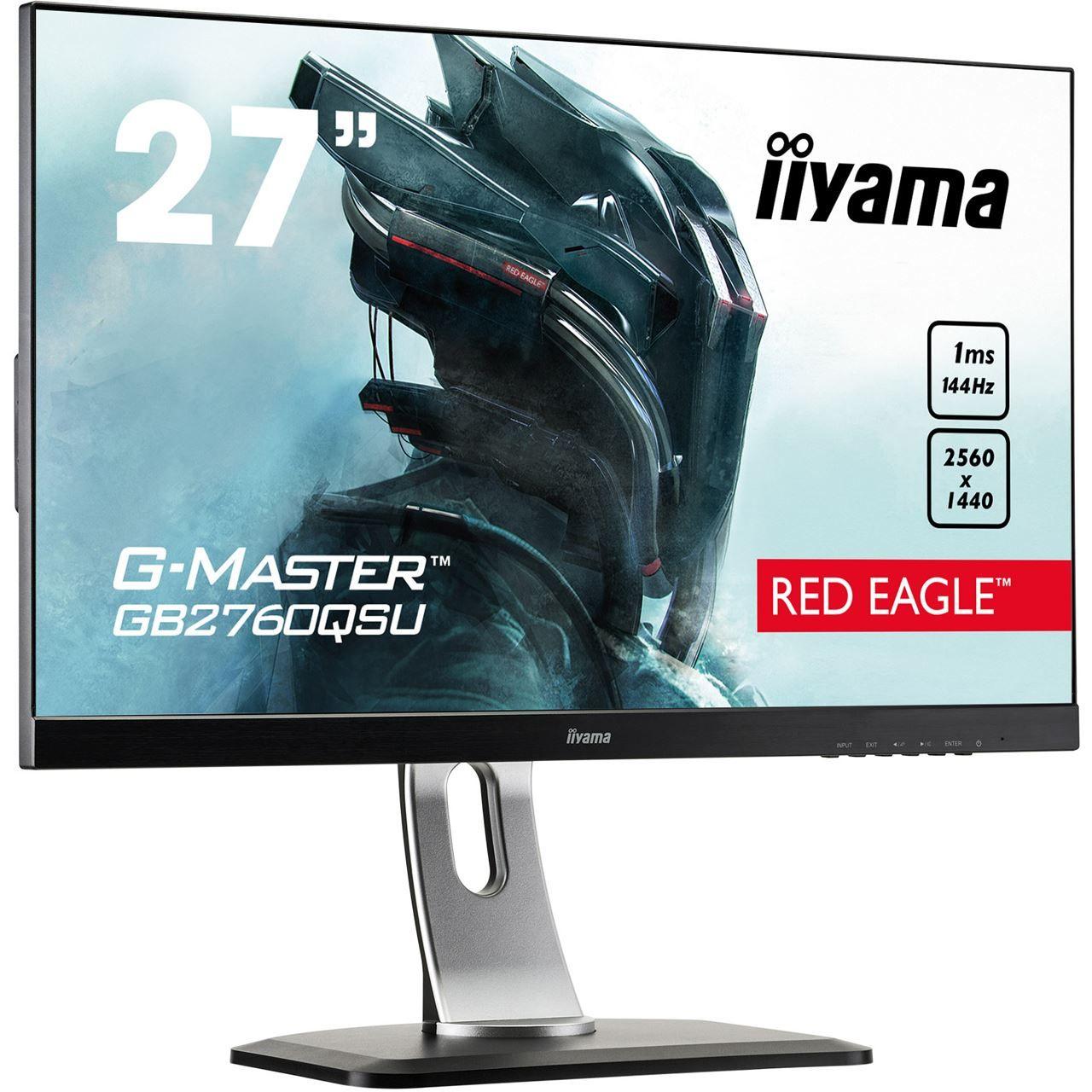 "[ebay USA] Iiyama G-Master GB2760QSU-B1 (27"", WQHD, 144Hz, TN)"