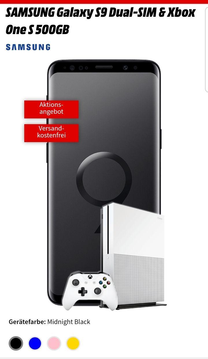 Samsung Galaxy S9 + Xbox One + Allnet Comfort  für 26,99€/ Monat