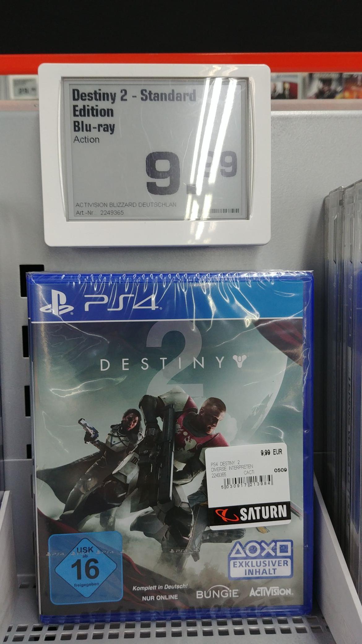 [Lokal München] Destiny 2 für Playstation 4 für 9,99€ im Saturn PEP
