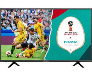 "Hisense H50NEC5205 - 50"" Ultra HD 4K Smart TV (3840x2160, 60 Hz, VA, 8bit+FRC, Triple Tuner mit DVB-T2, Dolby Digital Plus, WLAN) [ao@eBay.AU]"