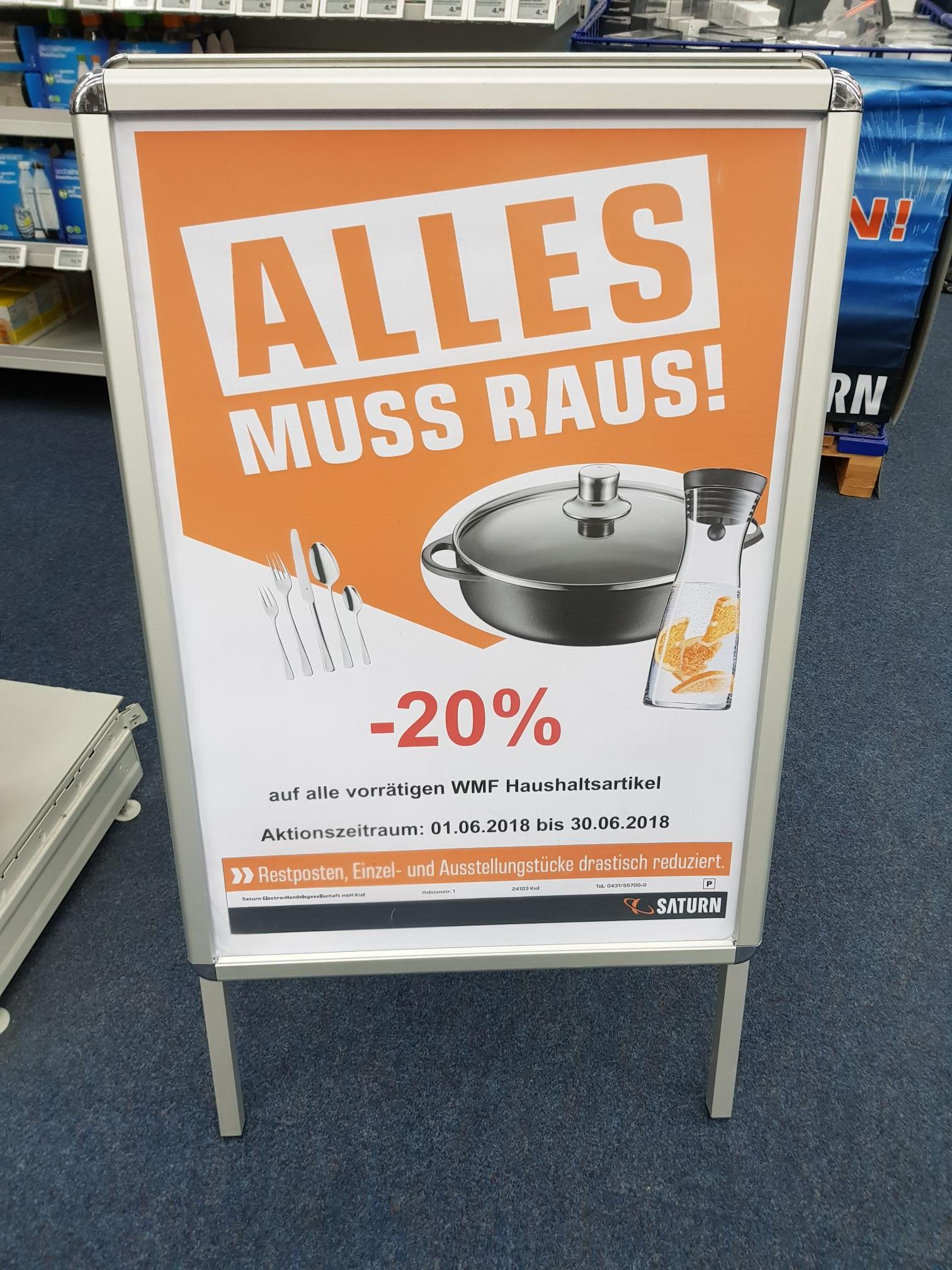 LOKAL Kiel - WMF bei Saturn 20% Rabatt