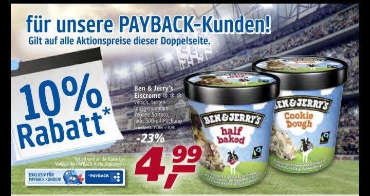 [ab 2. Juli] Ben & Jerry's für 4.50€ nur mit Payback Karte