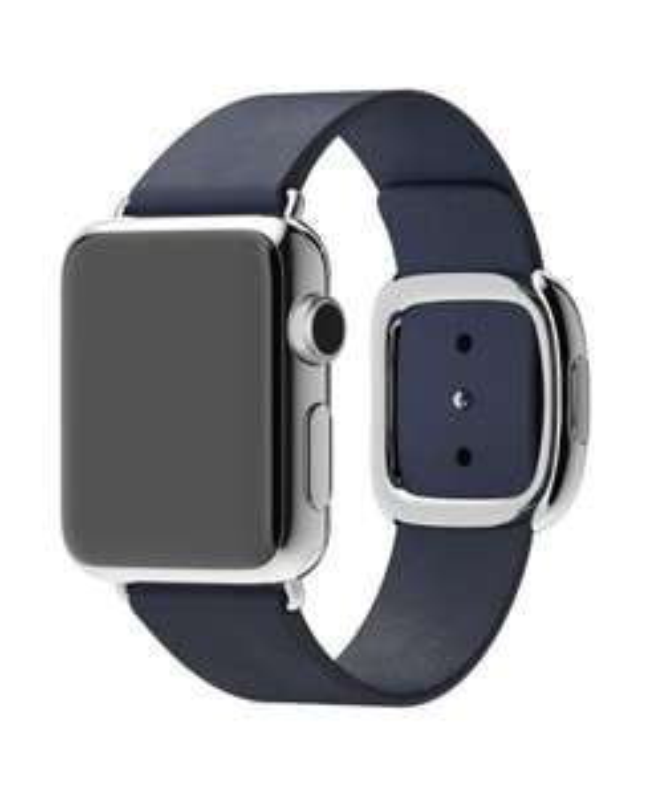 Lederarmband (original) für Apple Watch 38mm blau