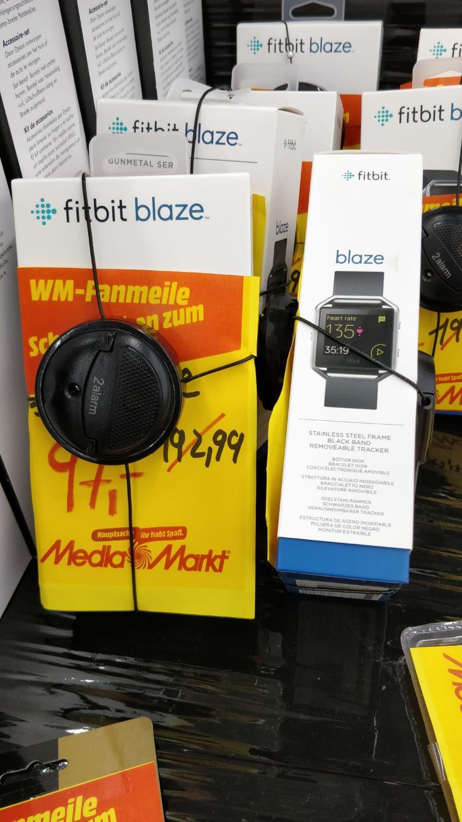 Fitbit Blaze Schweinfurt Media Markt City
