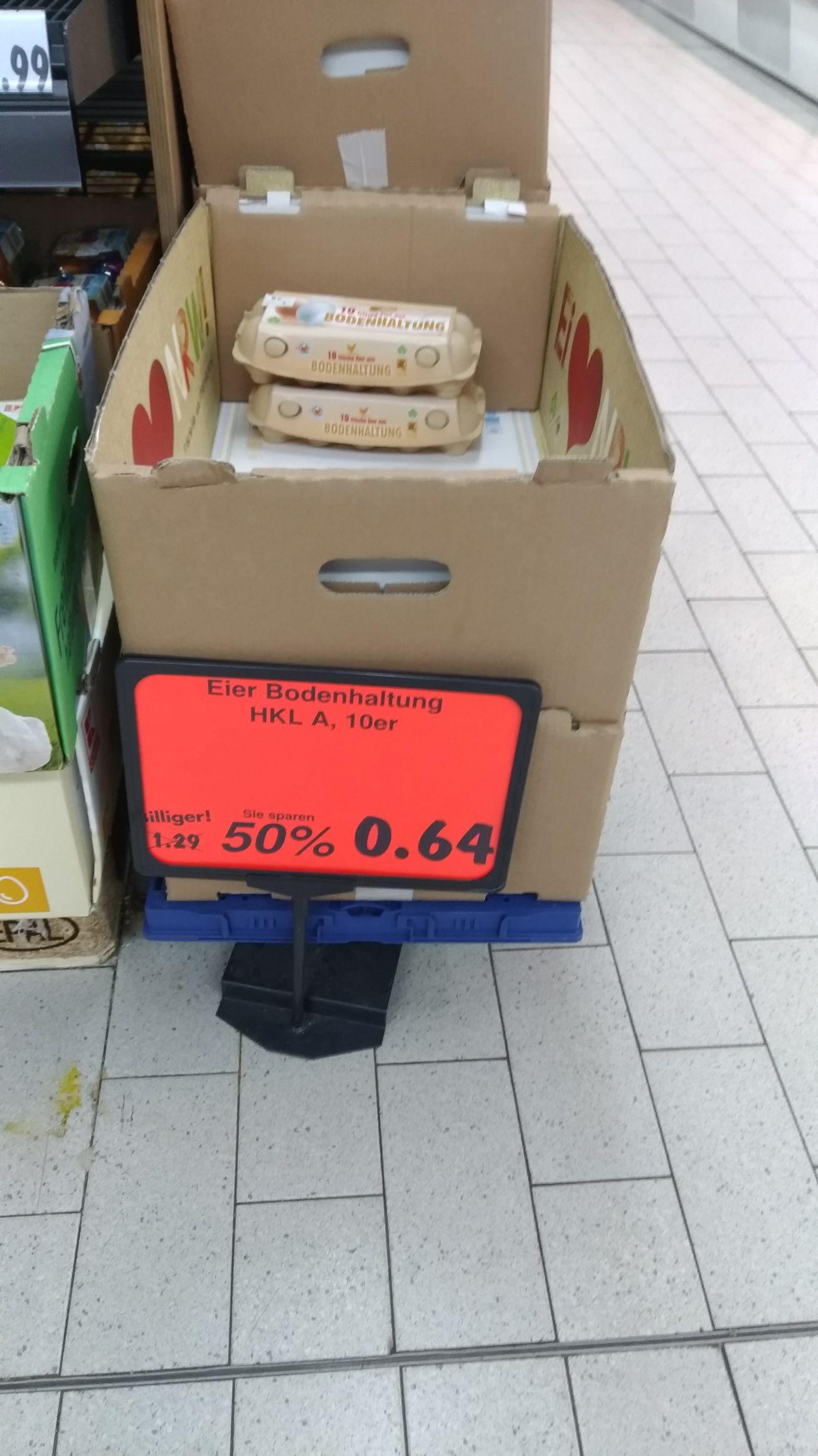 10 Eier 64 cent (Bodenhaltung)