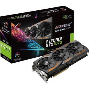 Nvidia GTX 1070 Strix bei Ebay per Gutschein.