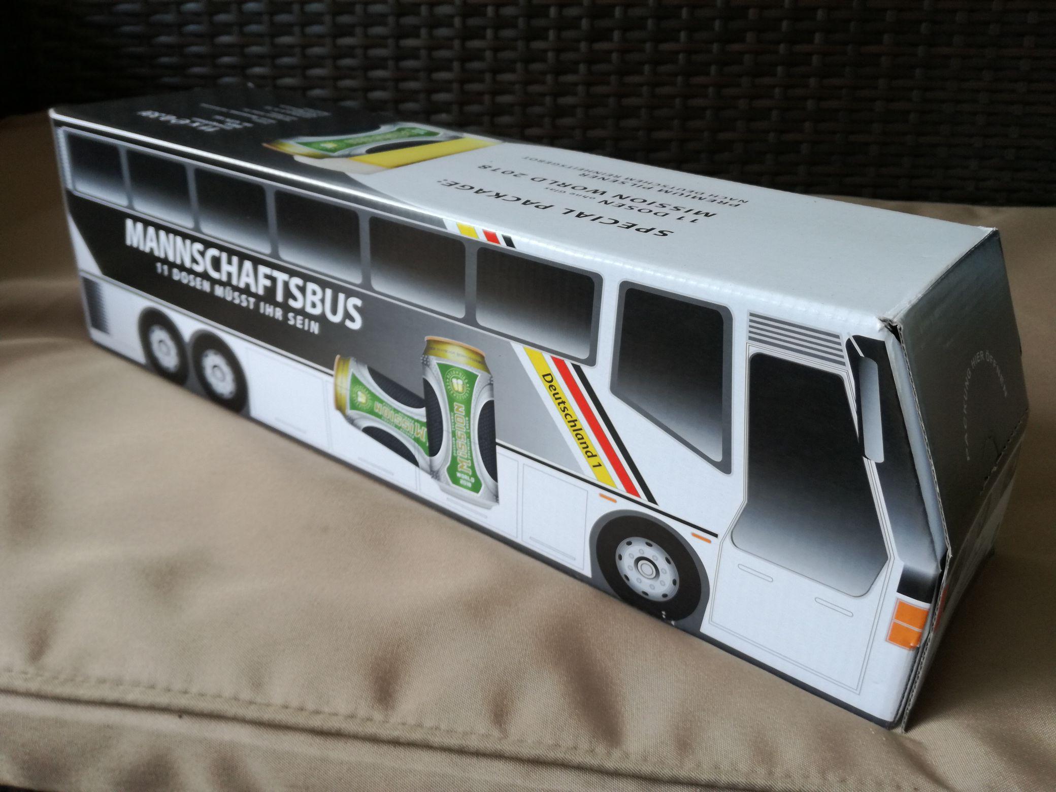 (LIDL bundesweit) Aktion - DFB Tourbus 11x0,33l Premiumbier