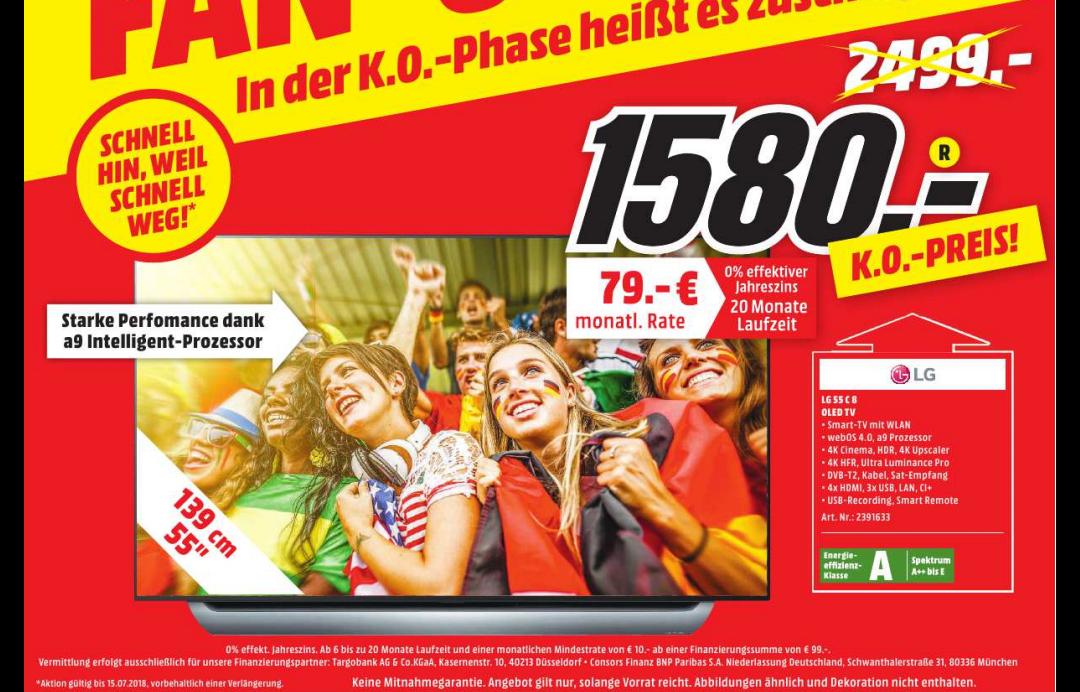 Lokal MM Borsigallee LG 55 C8 OLED TV