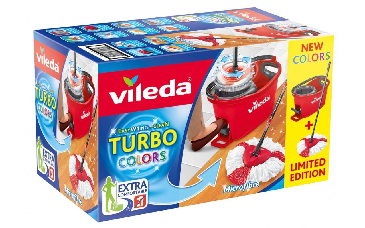Kaufland Berlin, Hamburg evtl. bundesweit Vileda Turbo Easy Wring & Clean Box Set Colors 18,99 Euro