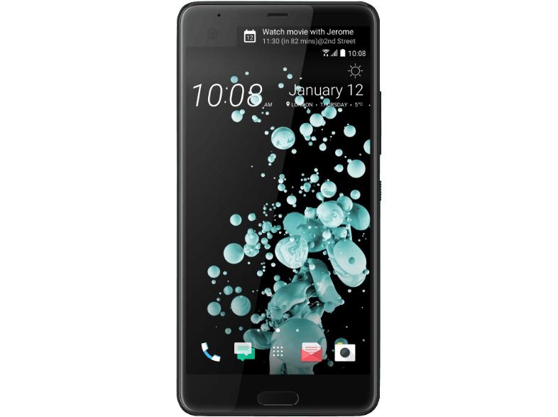 """HTC U Ultra Brilliant Black [14,48cm (5,7"""") Quad HD Super LCD 5 mit Dual Display, Android 7.0, 2.15GHz Quad-Core, 12MP Kamera]  beide Faben für je 199,-€ Versandkostenfrei**Wieder verfügbar** [Mediamarkt]"""