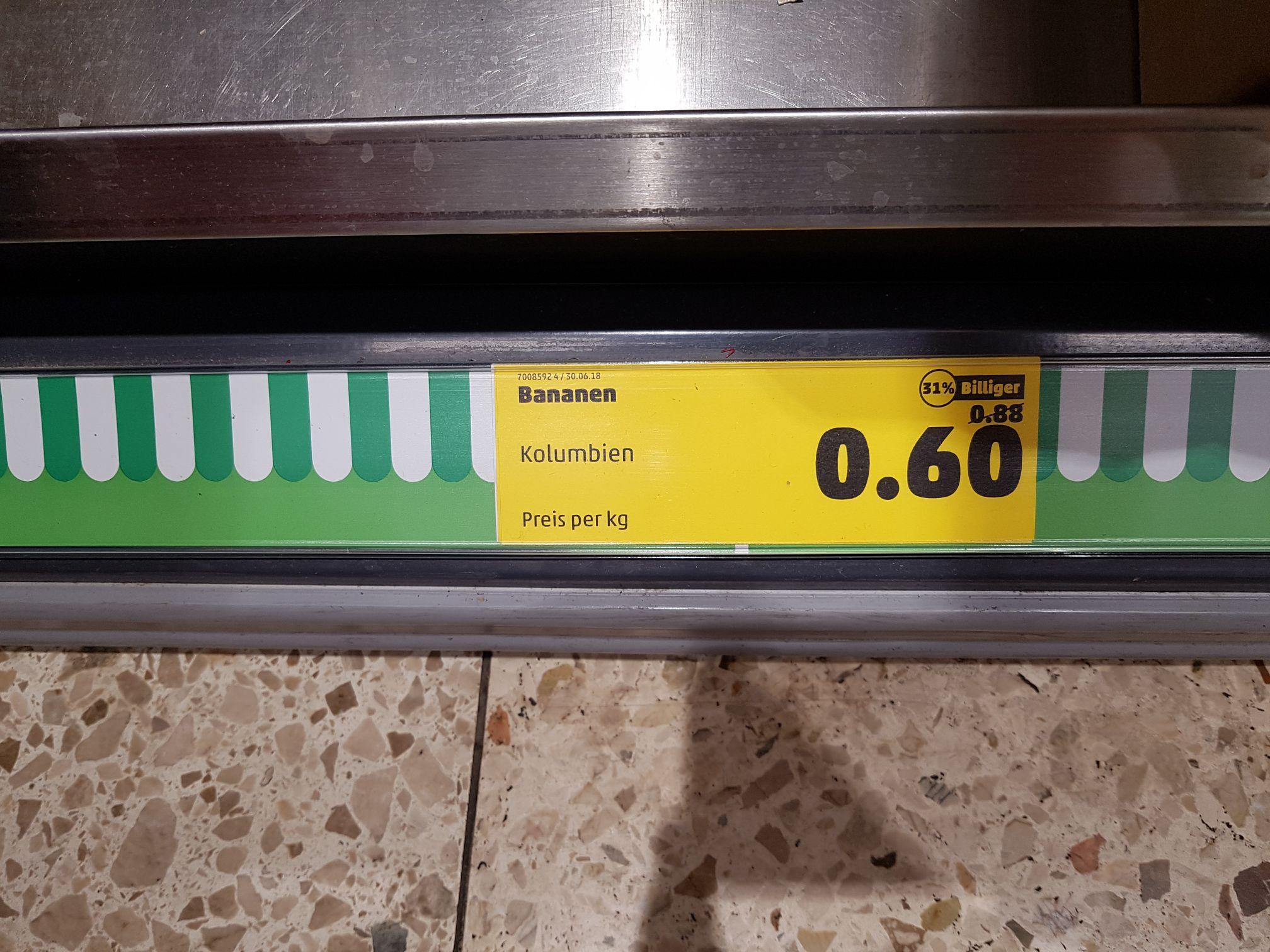 [Lokal - Penny Heidelberg Rohrbach] Bananen für 0,60€