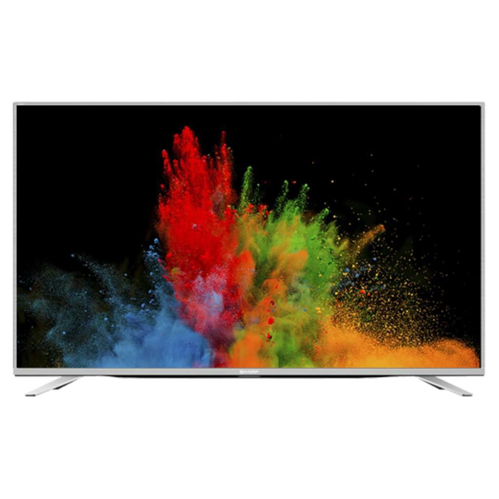 Sharp 139 cm (55 Zoll) Ultra-HD-LED-TV LC-55CUF8472ES, Triple Tuner, SmartTV