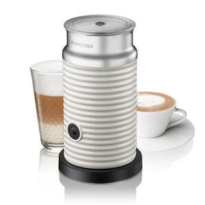 Nespresso Milchaufschäumer Aeroccino 3 in weiß und rot zum Bestpreis [ebay]