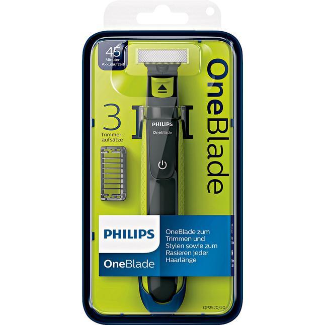 Philips OneBlade QP2520/20 (Rossmann, OFFLINE, -10% Gutschein in der APP)