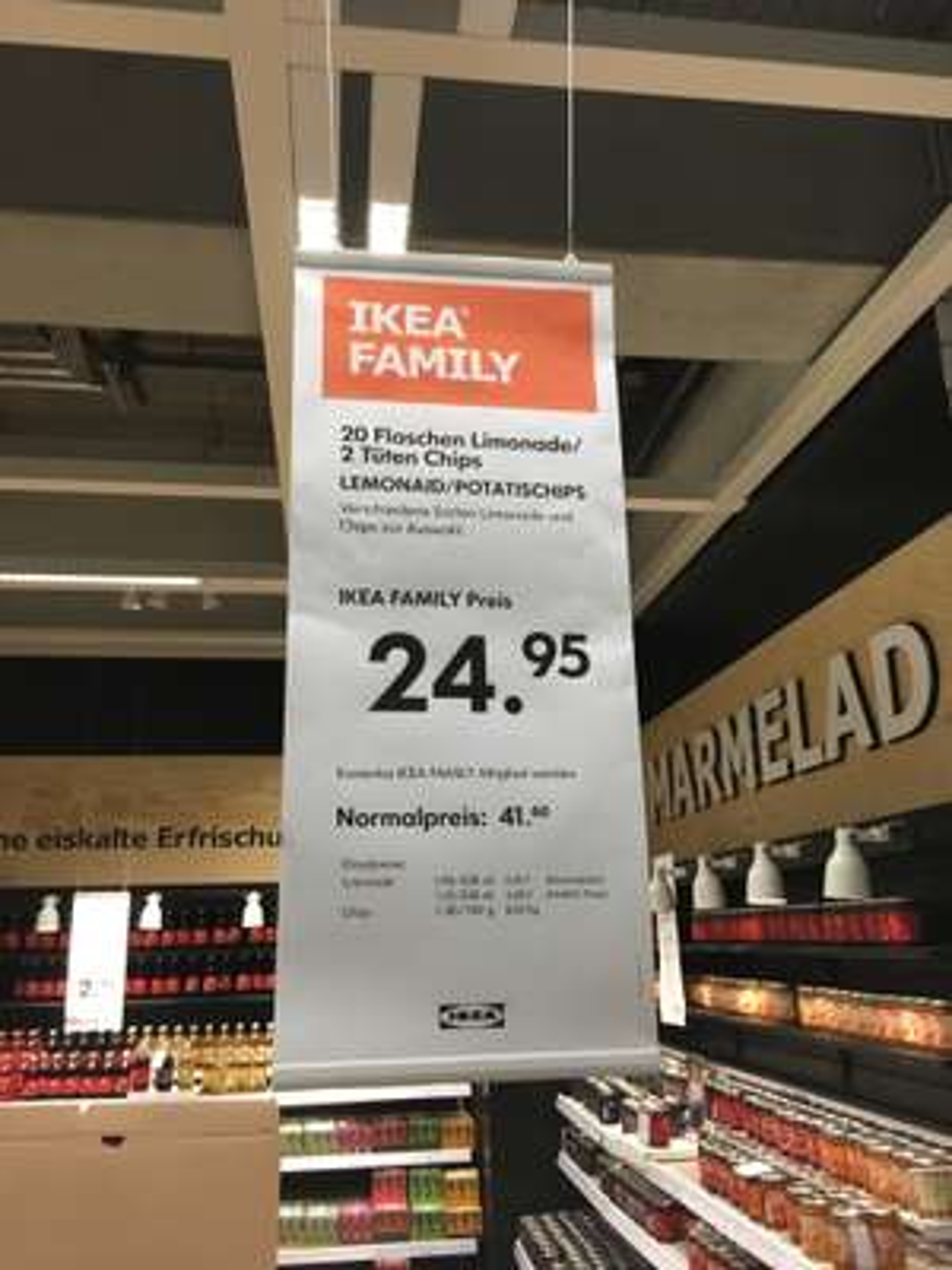 [IKEA Family Berlin] 20x ChariTea/Lemonaid + 2x Chips und OHNE Pfand-Berechnung